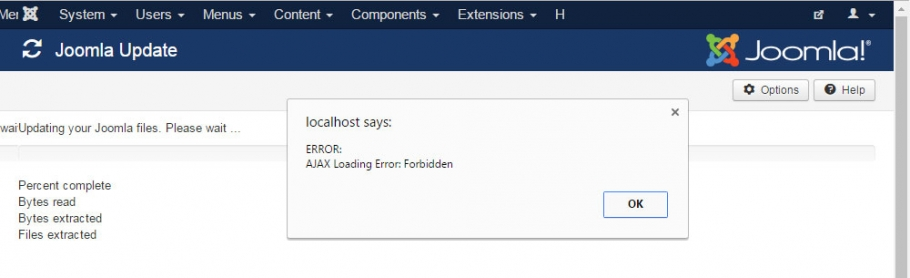 Troubleshooting a Joomla Update problem - Joomla Expert